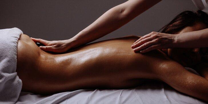 Senzuálna masáž.