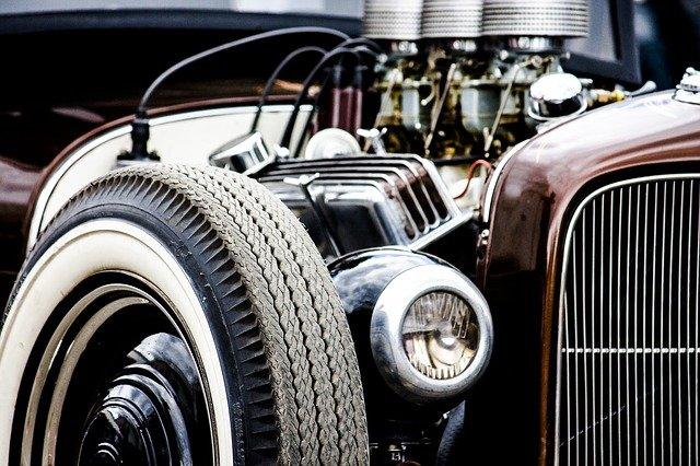 motor vozu