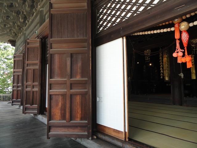 dřevěné posuvné dvere